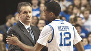 LEXINGTON - The more point guard Ryan Harrow plays and improves, the better Kentucky is going to be.