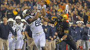 Navy wide receiver Brandon Turner started off his senior year on a sour note. The team's leading pass-catcher in 2011 missed the season opener against Notre Dame and didn't start against Penn State after being suspended for failing his physical readiness test.