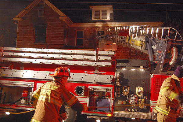 Firefighters responded to a house fire early Saturday in the 200 block of Fairview Avenue in Waynesboro
