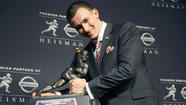 Texas A&M's Johnny Manziel is first freshman to win Heisman