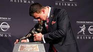 Photos: Johnny Manziel wins the Heisman Trophy 2012
