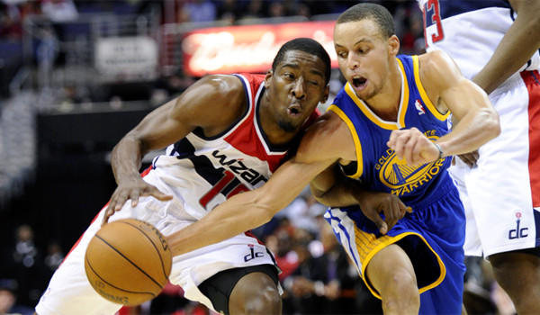 Jordan Crawford, Stephen Curry