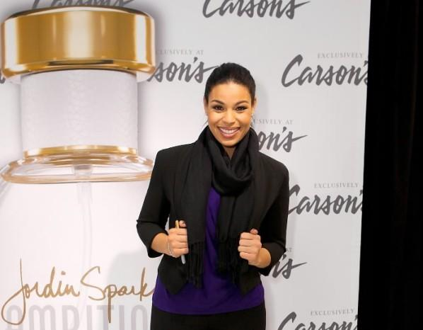Jordin Sparks promotes her Ambition fragrance December 1, 2012 at Carson's in North Riverside Park Plaza in North Riverside.