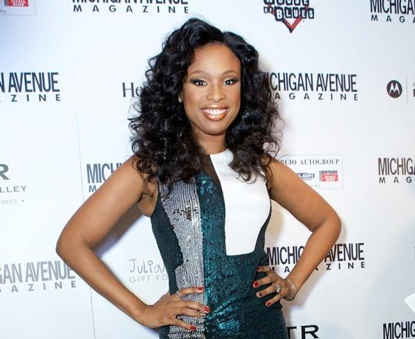 "Singer/actress Jennifer Hudson co-hosts ""A Hudson Holiday"" with Michigan Avenue magazine December 4, 2012 at the House of Blues."