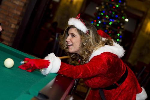 SantaCon 2012 kicks off at the Congress Plaza Hotel (520 S. Michigan Avenue) on Saturday, December 8, 2012.