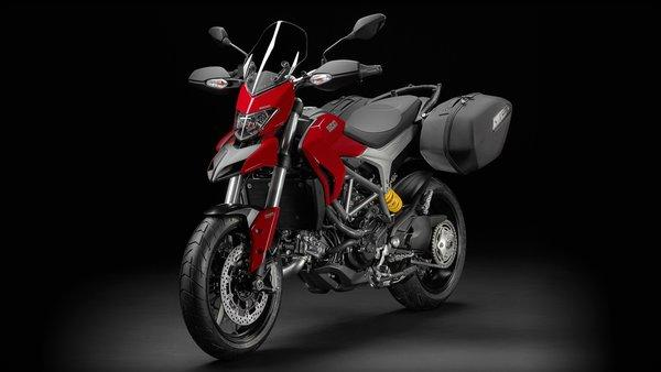 Ducati's Hyperstrada stresses performance and versatility.