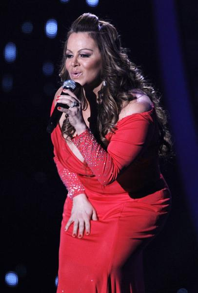 Jenni Rivera performs during the Latin Billboard Awards in Coral Gables, Fla. Authorities in Mexico say the wreckage of a small plane believed to be carrying Rivera has been found and there are no apparent survivors.