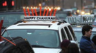 Celebrating Hannukah in Baltimore [Pictures]