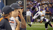 MINNEAPOLIS — In a telling fit of frustration appropriate for Sunday's 21-14 loss to the Vikings, Bears wide receiver Devin Hester followed up a failed late fourth-down conversion by throwing his helmet against the turf of Mall of America Field.
