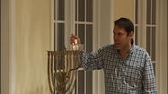 "It's the first day and second night of Hanukkah. And, whether at home or in synagogues, those of the Jewish faith are taking time to observe the 8-day holiday in unique and festive ways. There are many customs associated with Hanukkah. From the lighting of the Menorah to food, it's a festive and exciting time. Hanukkah is also known as the Festival of lights.  It includes many customs. The word Hanukkah means rededication. In this case, it has to do with a temple that was rededicated in Jerusalem after the Maccabees defeated the Syrian-Greek rulers. We spoke with Rabbi Fabian Werbin of the Beth Israel Synagogue in Roanoke. ""They needed oil for 8 days and they found a flask of oil. Instead of lasting one day it lasted for 8 days,"" said Werbin.  And that is what eight of the menorah candles represent. Another is used to light them. Hanukkah is a time where traditional dishes take center stage."