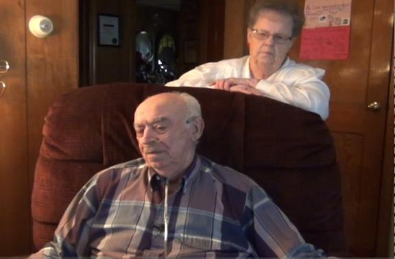 Dick and Sylvia Smith are longtime Hagerstown residents who have been helped through the Neighbors Helping Neighbors Snow Angel program in recent years.