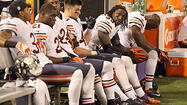 Bears unable to dig out of early hole in loss to Vikings