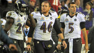 — A week ago, the Ravens got beat by an old quarterback. On Sunday, they got beat by two rookie quarterbacks, one playing on one leg and the other having thrown only nine passes in his NFL career.