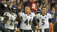 Ed Reed, Morgan Cox, Joe Flacco