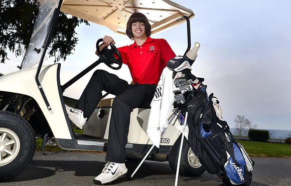 Herald-Mail All-County Golfer of Year Aaron Staley