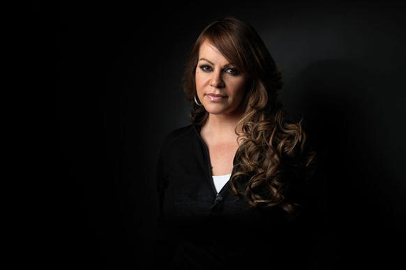 "Jenni Rivera, from the film ""Filly Brown,"" poses for a portrait during the 2012 Sundance Film Festival in Park City, Utah."