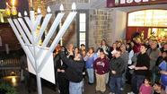 Jewish community comes together to celebrate Hanukkah