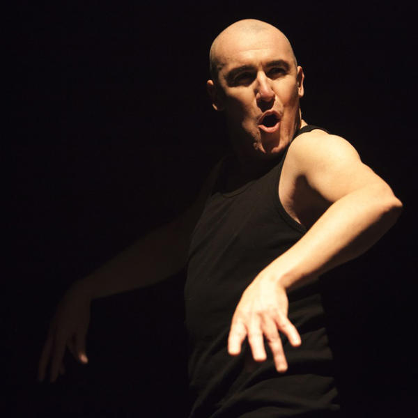 "Pat Kinevane in ""Silent"" at the Odyssey Theatre."