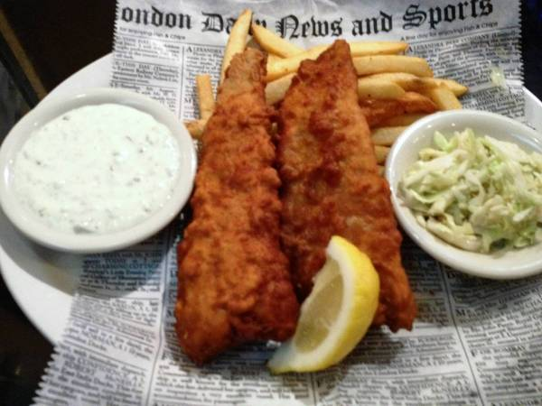 Food find: Newcastle Fish & Chips at Bailey's Sports Grille in Newport News