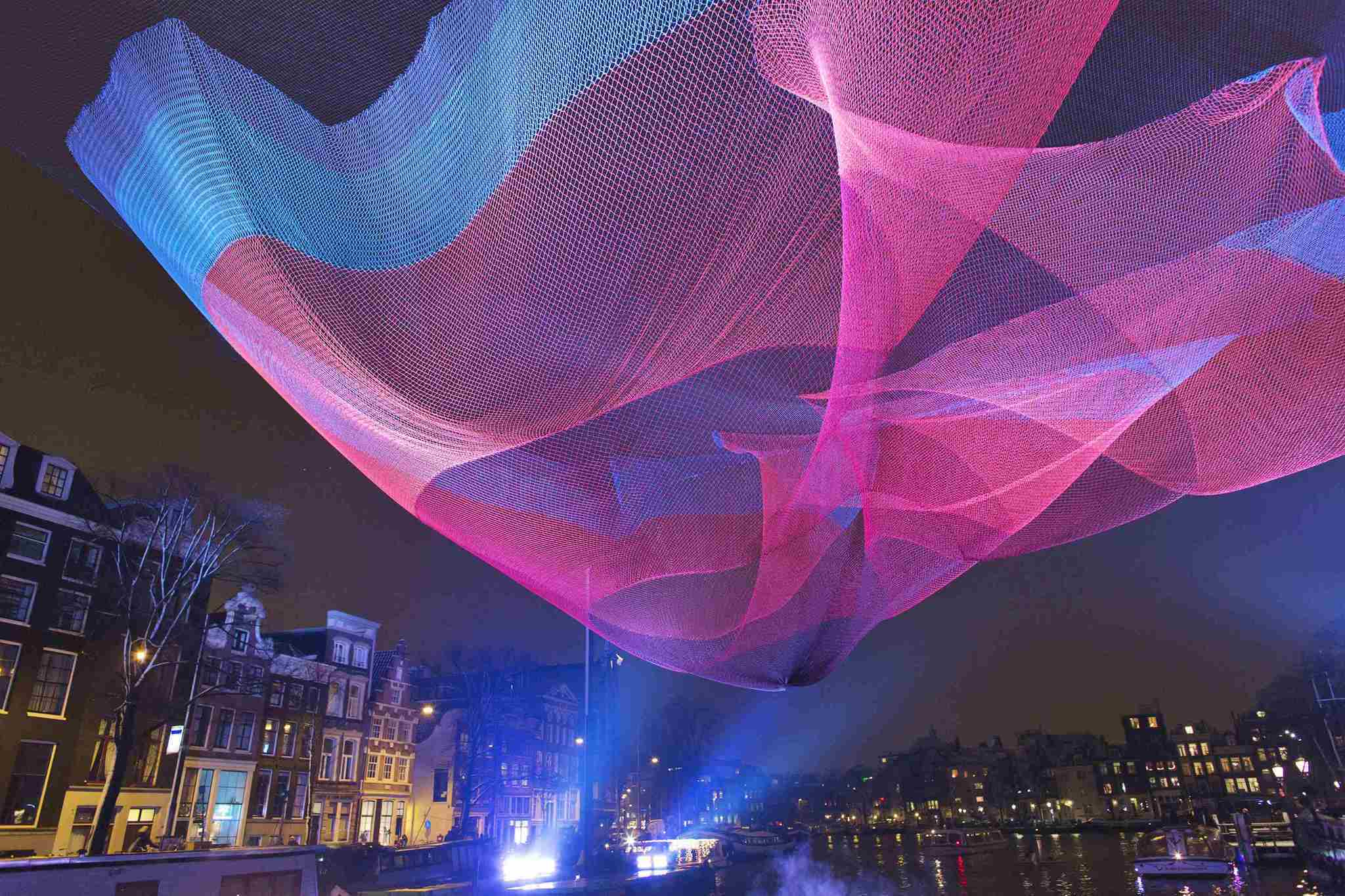 Pictures: Holiday lights from around the globe - Amsterdam Light Festival