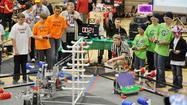 Petoskey Middle School robotics team, G3: Geeks, Gears and Gadgets, won the highest award given to any team, the prestigious Inspire Award, at the For Inspiration and Recognition of Science and Technology robotics qualifying tournament in Kentwood on Saturday.