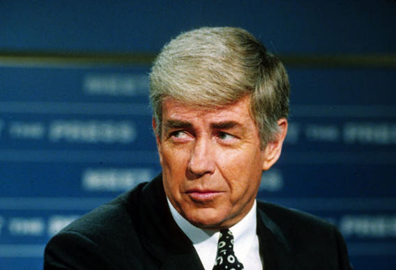 Secretary of Housing and Urban Development Jack Kemp in 1992