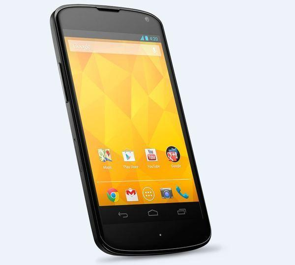 Built by LG, Google's flagship smartphone completely sold out in the U.S. within minutes of going on sale on Nov. 13. The Nexus 4 runs on Android Jelly Bean 4.2, the latest version of the Google operating system, and features a 4.7-inch screen with a 1,280 by 768 pixel resolution.