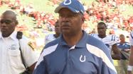 Former Colts head coach Jim Caldwell will take over as offensive coordinator for the Baltimore Ravens.