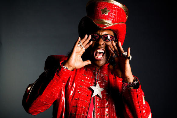 Bootsy Collins will lead a funky charge into Hampton Coliseum next year.