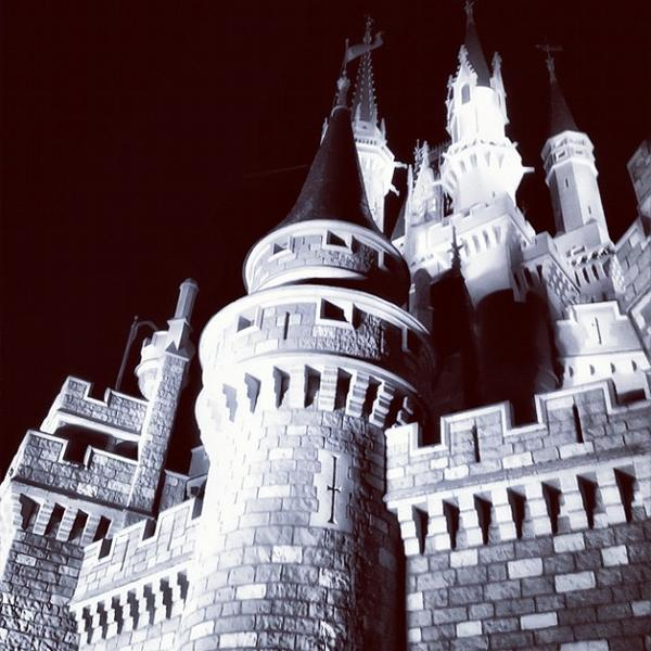 @lenijb_ru took this shot of Cinderella Castle at Walt Disney World's Magic Kingdom. #thedailydisney