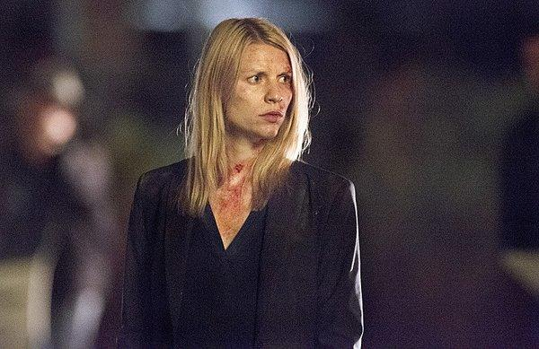 "Claire Danes as Carrie Mathison in Homeland Season 2, Episode 11 ""The ... With a Turban""."