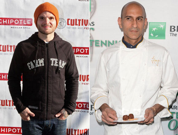 Chef Nate Appleman and Chef Jehangir Mehta
