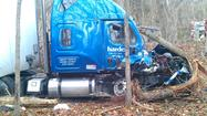 PHOTOS: Tractor-trailer accident in Giles County
