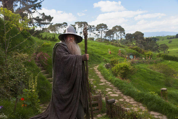 "Ian McKellan in ""The Hobbit: An Unexpected Journey"""