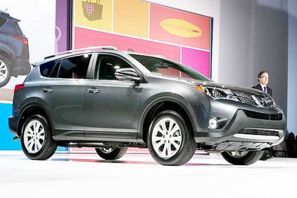 The RAV4 was one of the first compact SUVs and its current ¿ and somewhat ancient ¿ model still sells remarkably well. Will this overhaul offer the comfortable driving experience and mileage that Honda and Mazda have delivered with their recent redesigns? Plus, we just want to pop some Champagne after opening a RAV4 rear door upward instead of to the side.