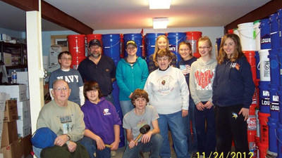 Beulah youth mission trip