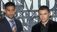 Amir Khan's comeback fight Saturday at the Los Angeles Sports Arena will be preceded by boxing's return to network television.