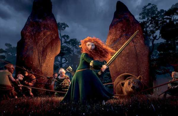 """Brave"" remained the top-selling DVD and Blu-ray for the third week in a row."