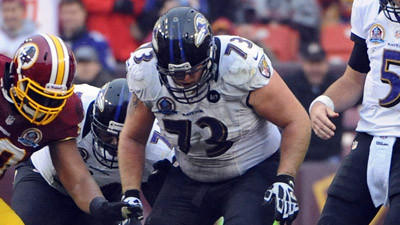 Ravens' Marshal Yanda has a 'seriously sprained ankle,' John Ha…