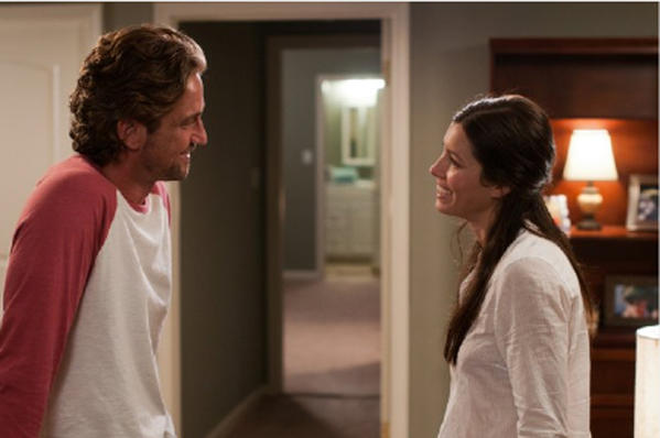 "Gerard Butler and Jessica Biel star in ""Playing for Keeps"""