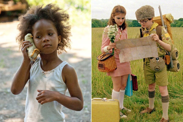 "Stories of children doing the hard work of growing up in difficult circumstances brought us two of the year's most impassioned, provocative and artistically inventive films. I believe these 21st century fables -- Wes Anderson's ""Kingdom,"" right, and Benh Zeitlin's ""Beasts"" -- will become classics."