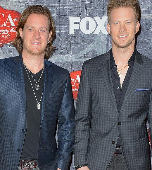 2012 American Country Awards red carpet pics: Tyler Hubbard and Brian Kelley