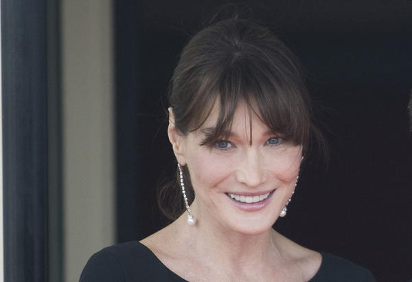 French first lady and singer Carla Bruni is 44 today.