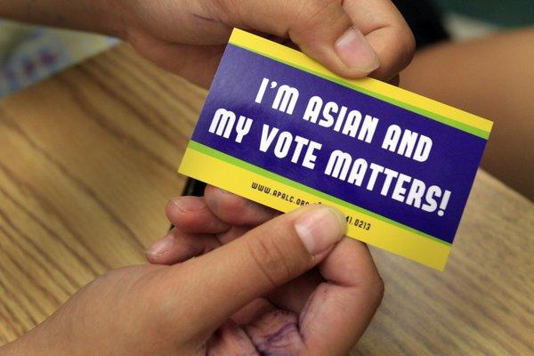 Asian American voters