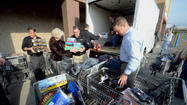 They rolled out with empty shopping carts, and a few ideas of what a teenager might like for Christmas.  Members of the Roanoke Regional Home Builders Association fanned out across the Bonsack Walmart Monday morning. And the presents began to pile up.