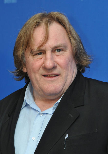 French actor Gerard Depardieu is 63 today.