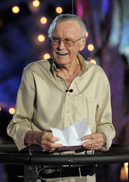 "<a class=""taxInlineTagLink"" id=""PEPLT003852"" title=""Stan Lee"" href=""/topic/entertainment/cartoons/stan-lee-PEPLT003852.topic"">Stan Lee</a> is 88 today. (Photo by Kevin Winter/Getty Images)"