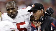 In a roundabout way, Brandon Jacobs told the San Francisco 49ers how he really felt.