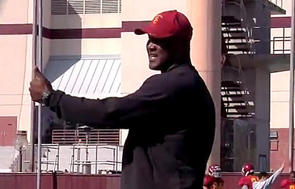 USC receivers coach Tee Martin