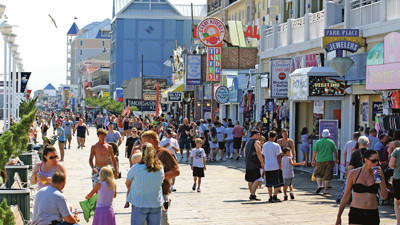 Ocean City looks ahead to summer -- and tourists up for grabs
